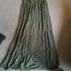 Mossimo large maxi skirt